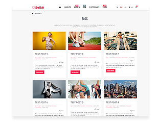 Seiko - Shopify Theme